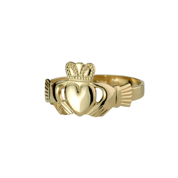 10K-and-14K-Gold-Claddagh-Rings-for-Men-and-Women