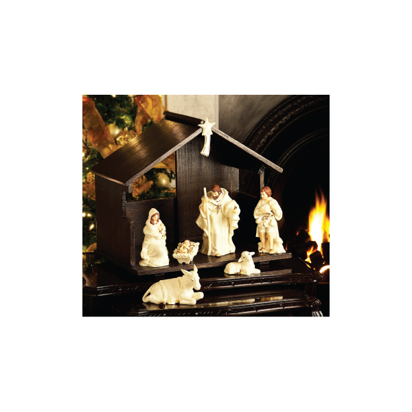 Belleek China Nativity Set