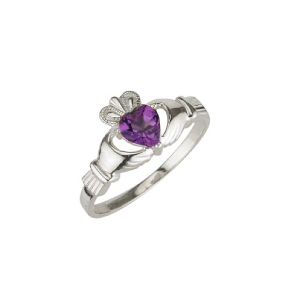 Claddagh Birthstone Jewelry
