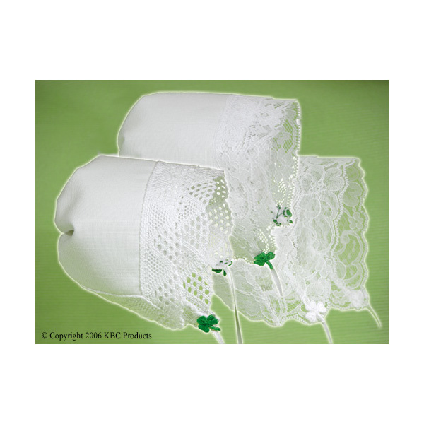 Irish Magic Hankies Bonnets (Bonnet turns into Wedding Hankie)