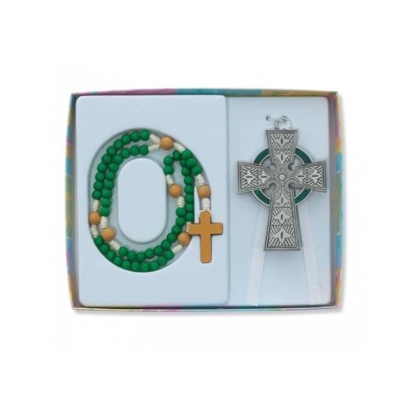 Irish Rosary Sets for Babies
