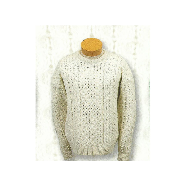 Irish Wool Pull Over Sweaters
