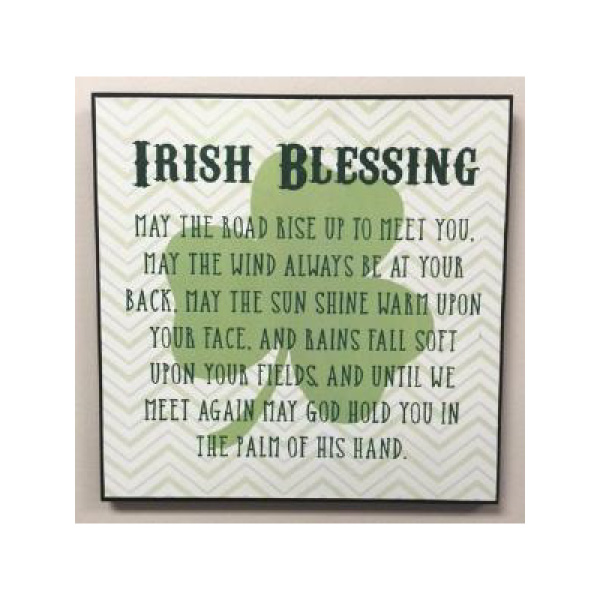 Irish Blessings Plaques