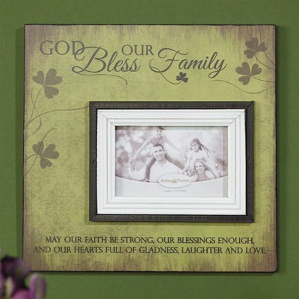 irish family picture frame